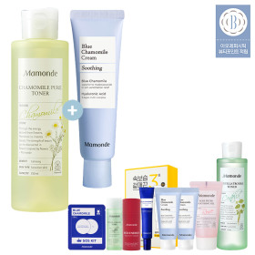 [Mamonde] Blue Chamomile Soothing Cream 50ml+250ml
