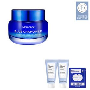 블루 캐모마일 수딩 리페어 크림 50ml + 50ml + 증정
