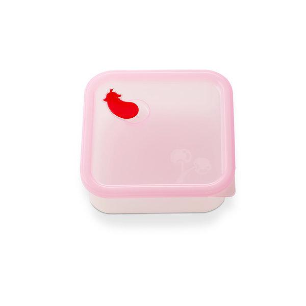 실리콘 정사각용기 밥팩가지 대 500ml 핑크 밀폐용기 상품이미지