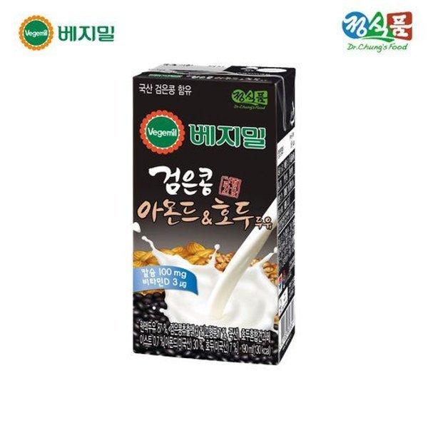 갤러리아  베지밀 검은콩과 아몬드호두 두유 190mlx32팩 상품이미지