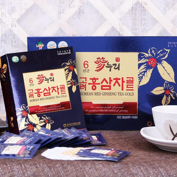 충북인삼농협 고려 홍삼차 골드 50포 상품이미지