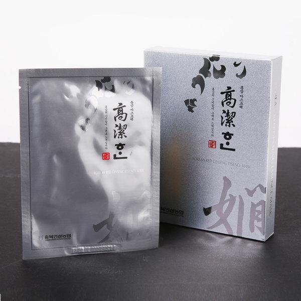 충북인삼농협 홍삼 마스크팩 5P 상품이미지