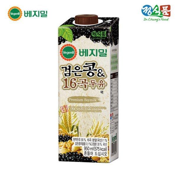 갤러리아  베지밀 검은콩과 16곡 두유 950mlx12팩 상품이미지