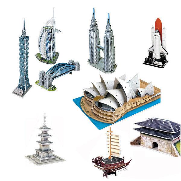 3D 입체퍼즐 종이모형 학습교구 건축물 역사 문화유산 상품이미지