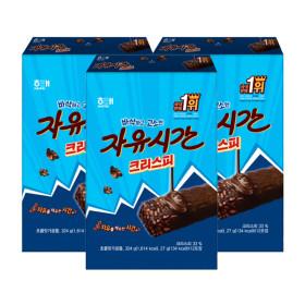 자유시간 크리스피 27g12개 324g 3봉 간식 초콜렛