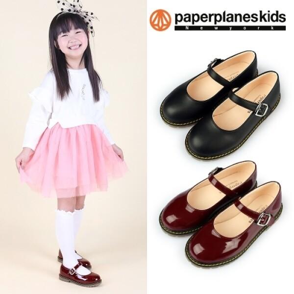 페이퍼플레인키즈 유아동 여아 구두 어린이 신발 공주 메리제인 슈즈 상품이미지