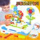 어린이 드릴장난감 소 2D 창의력개발 공구놀이 선물