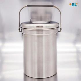 이비케이 가정용 스텐 음식물쓰레기통 3L 냄새차단