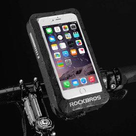 락브로스 360 자전거 핸드폰거치대 지갑스타일 거치대
