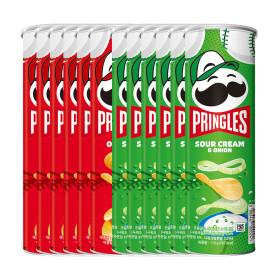 프링글스 오리지널3개+양파맛3개+프링글스 랜턴