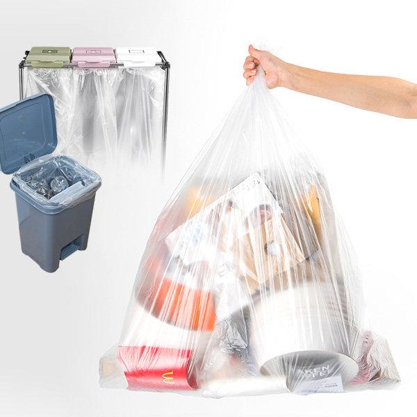 리빙앳홈 분리수거함 비닐봉투 30L(100매) 상품이미지