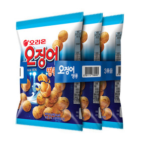 오리온 오징어땅콩 98g x 3봉