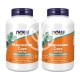 2개 Now Foods 마그네슘 캡스 400 mg 180 베지 캡슐 빠른직구