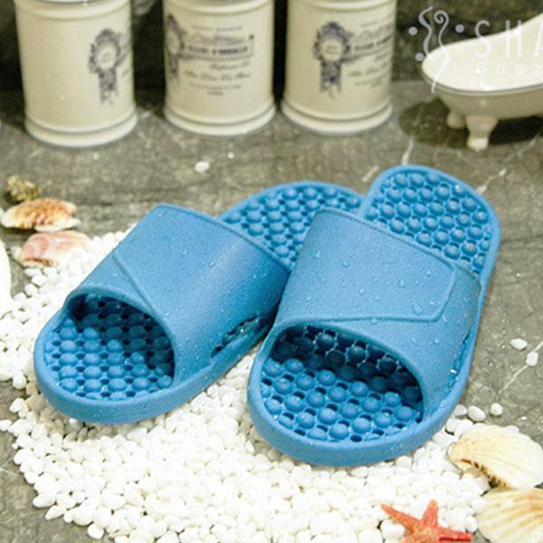 샤바스 도트 안전욕실화(블루)실내화 슬리퍼 거실화 상품이미지