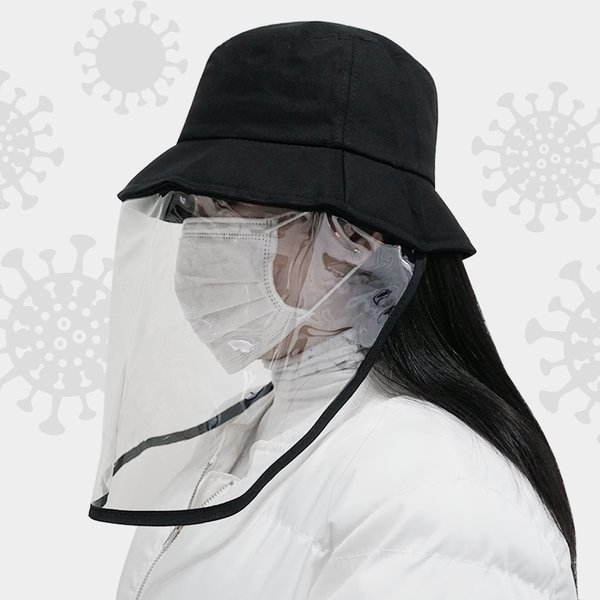 안면보호 모자 방역 버킷햇 남여공용 KF94 마스크SET 상품이미지