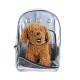 애견 투명가방 통풍형 그레이/강아지 이동가방 케이지