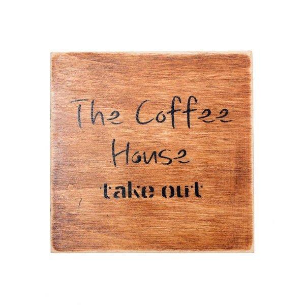 자작나무 우드 컵받침 10cm 커피하우스 주방용품 상품이미지