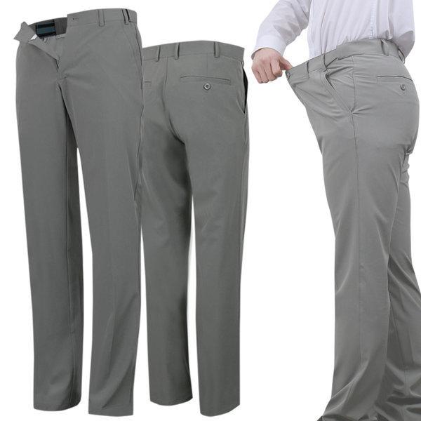남성 슬림핏 스판 허리조절 정장겸용 골프바지 환절기 상품이미지