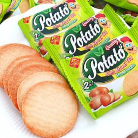 2박스(100봉) 프롬 포테이토맛 크래커 과자 간식