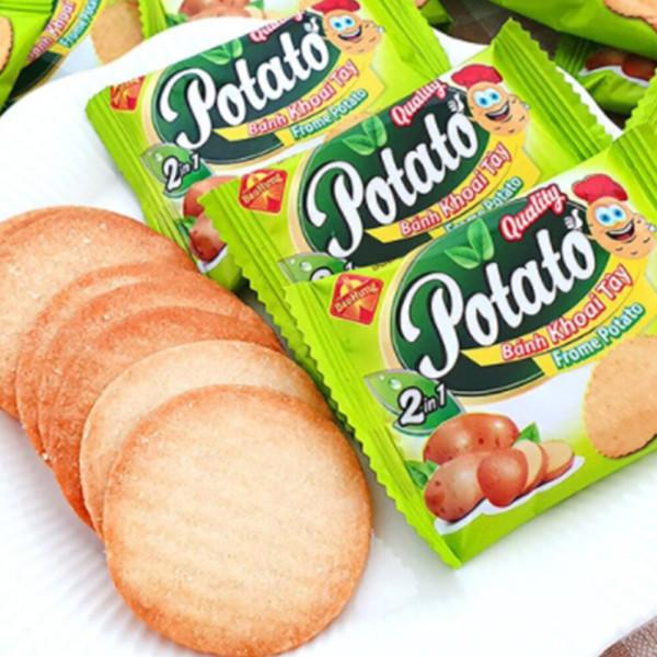 2박스(100봉) 프롬 포테이토맛 크래커 과자 간식 상품이미지