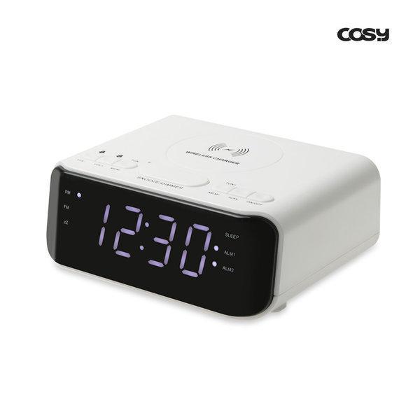 코시 복합기능 고속무선충전기(10W 시계 알람 라디오) 상품이미지