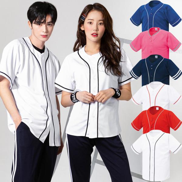 단체티 야구티셔츠 야구유니폼 반티 과티 상품이미지
