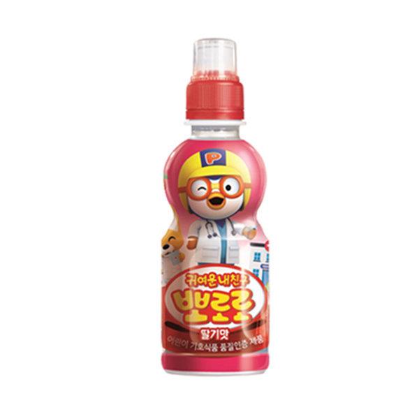 뽀로로 딸기 235ml x 1펫 / 뽀로로음료 어린이음료 상품이미지