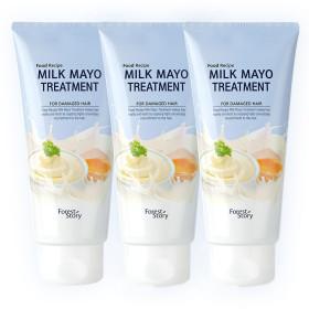 밀크 마요 트리트먼트 300ml 1+1 /단백질헤어팩 대용량