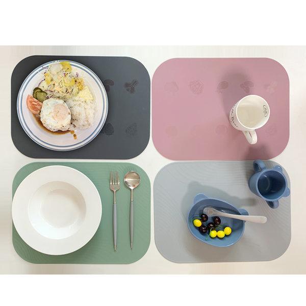 실리콘 양면 테이블 식탁매트 실리콘 매트 상품이미지