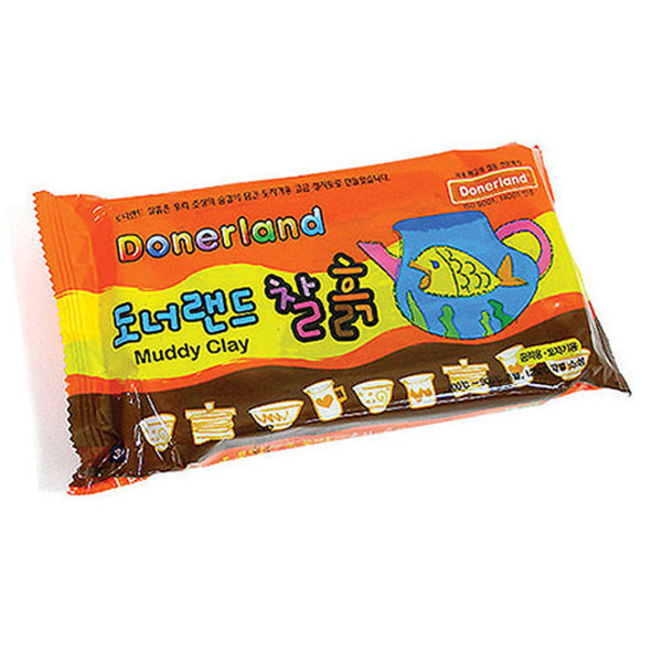 도너랜드)찰흙(500g) /오피스대디 상품이미지