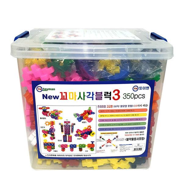 꼬마사각블럭3/404p/사각블럭/블럭/블록/장난감/퍼즐 상품이미지