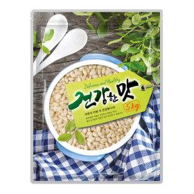 건강한맛 현미찹쌀 5kg 찰현미 지퍼팩