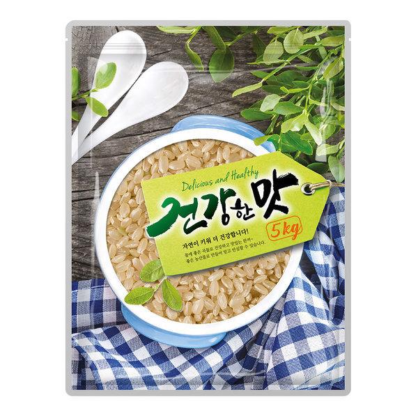 건강한맛 현미 5kg 영양의 보고 쌀눈과 쌀겨가 풍부 상품이미지
