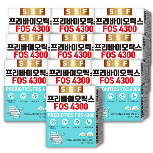 프리바이오틱스 FOS4300 아연 3박스(90포) 상품이미지