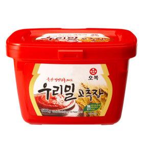오복식품 우리밀 고추장 500g 국산고추 100%