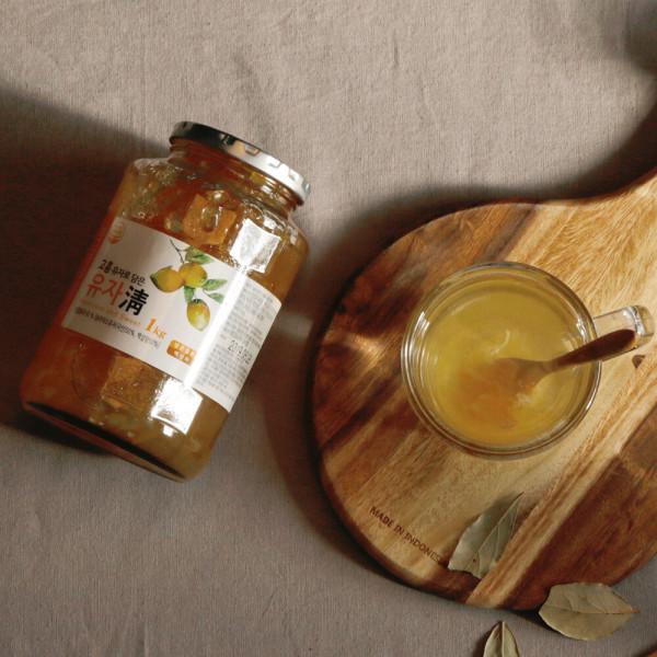 파낙스 고흥 유자청 1kg 꿀유자차 유자차 절임 잼 상품이미지