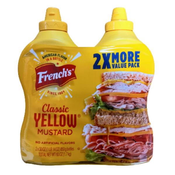 프렌치스 클래식 엘로우 머스타드 1.7kg 맛있는 상품이미지