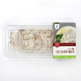 국내산 숙성 도다리 세꼬시 120g(소스증정) 감칠맛