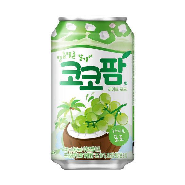 코코팜 포도 (뚱캔) 340ml x 1캔 / 캔음료 포도음료 상품이미지