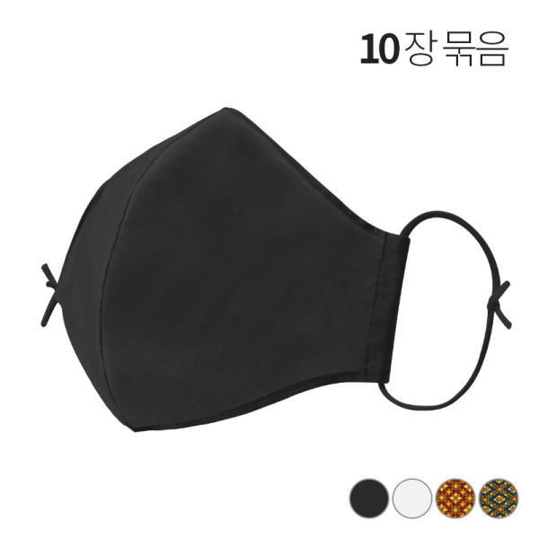 VID마스크10장/면마스크/필터교체/정전기필터-한국 상품이미지