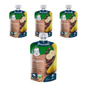 오가닉 파우치 바나나 아사이베리 믹스 3+1(총 4개)