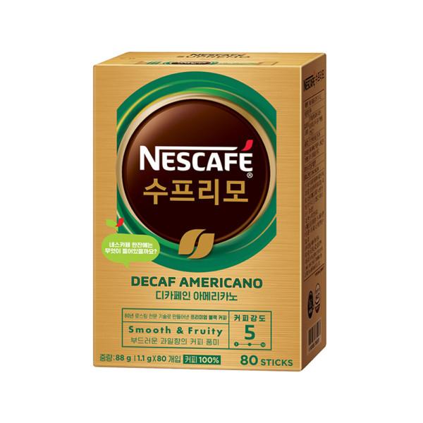 네스카페 수프리모 디카페인 80T 무료배송 상품이미지