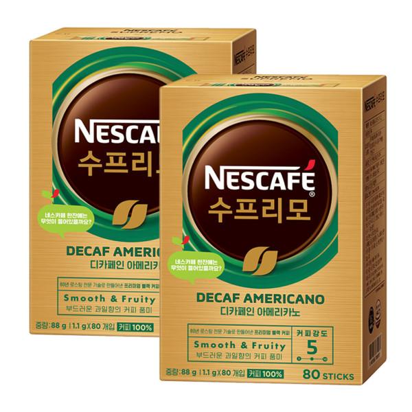 네스카페 수프리모 디카페인 80T+80T 상품이미지