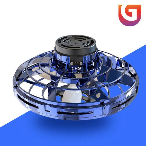 FLYNOVA 플라이노바 드론 미니드론 LED 부메랑 -블루 상품이미지