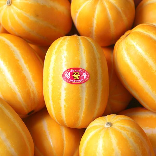 (현대Hmall) 농부마음  성주 꿀 참외 3kg 10-15과 상품이미지