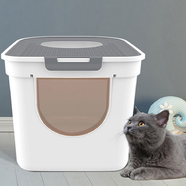 빈샵 고양이화장실 고양이배변 반려묘 화장실 모래삽 상품이미지
