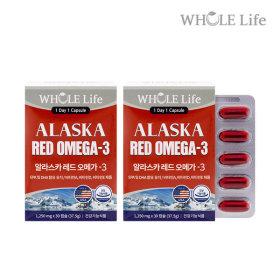 홀라이프 알라스카 레드오메가-3 60캡슐/건강기능식품