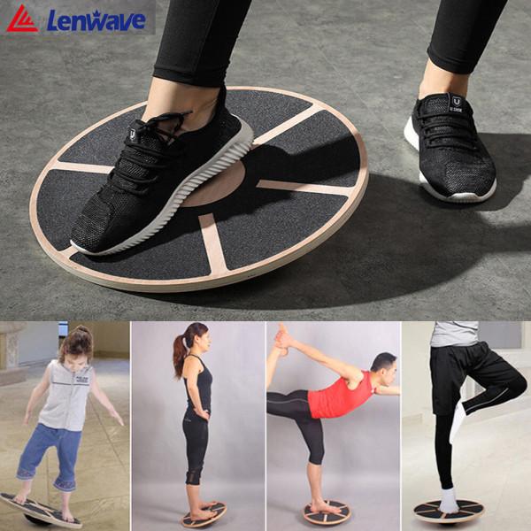 Lenwave (우드 밸런스 보드) 균형잡기 밸런스운동 상품이미지