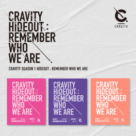 크래비티  CRAVITY SEASON 1 HIDEOUT REMEMBER WHO WE ARE  (SET) / 발매일 : 4월 14일