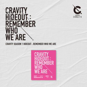 크래비티 CRAVITY SEASON 1 HIDEOUT REMEMBER WHO WE ARE  (VER.1) / 발매일 : 4월 14일